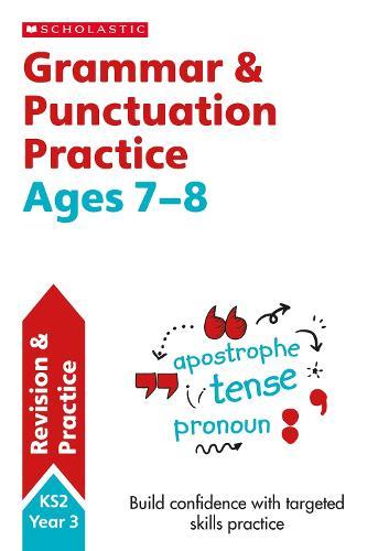 Grammar and Punctuation Year 3 Workbook - Scholastic English Skills (Paperback)