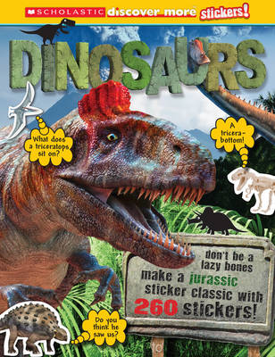 Dinosaurs - Discover More Stickers (Paperback)