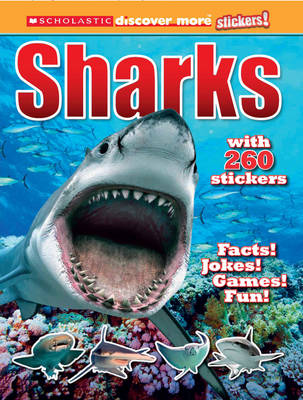 Sharks - Discover More Stickers (Paperback)