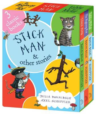Stick Man and Other Stories Mini Boxed Set (Hardback)