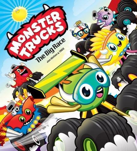 Monster Trucks: The Big Race (Paperback)