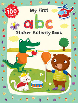 My First abc Sticker Activity Book - First Skills (Paperback)
