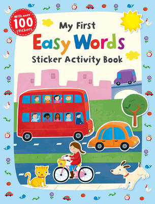 My First Easy Words Sticker Activity Book - First Skills (Paperback)