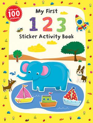 My First 1 2 3 Sticker Activity Book - First Skills (Paperback)