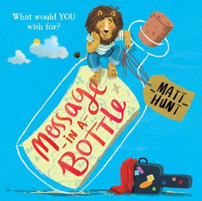 Cover of the book, Message in a Bottle.