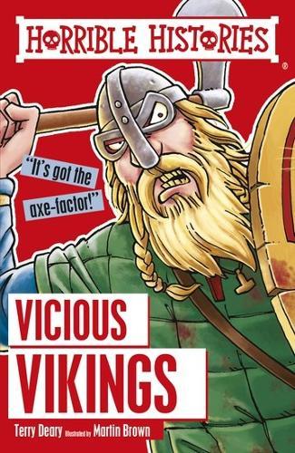 Vicious Vikings - Horrible Histories (Paperback)