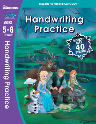 Frozen Magic of the Northern Lights: Handwriting Practice (Ages 5-6) - Disney Learning (Paperback)