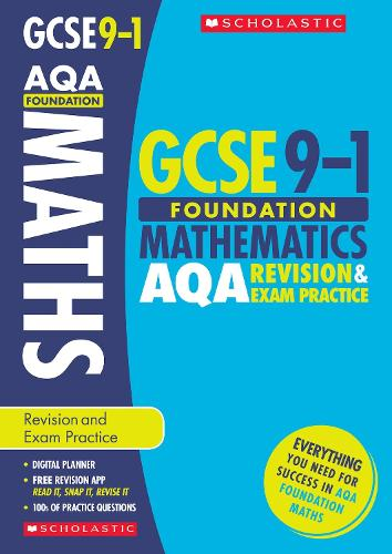 Maths Foundation Revision and Exam Practice Book for AQA - GCSE Grades 9-1 (Paperback)