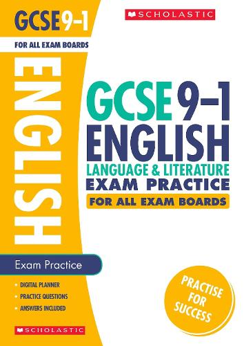 English Language and Literature Exam Practice Book for All Boards - GCSE Grades 9-1 (Paperback)