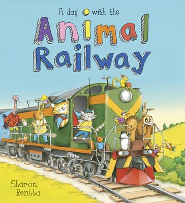 A Day with the Animal Railway (Hardback)