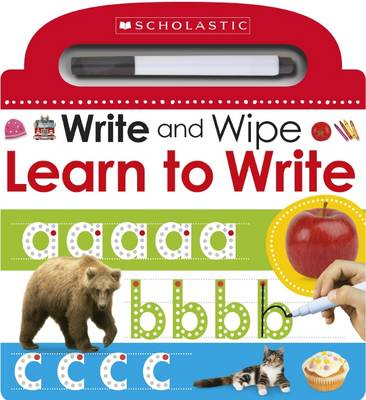 Write and Wipe: Learn to Write - Scholastic Early Learners (Board book)