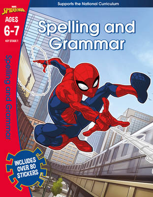 Spider-Man: Spelling and Grammar, Ages 6-7 - Marvel Learning (Paperback)