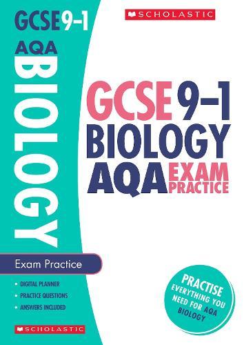 Biology Exam Practice Book for AQA - GCSE Grades 9-1 (Paperback)