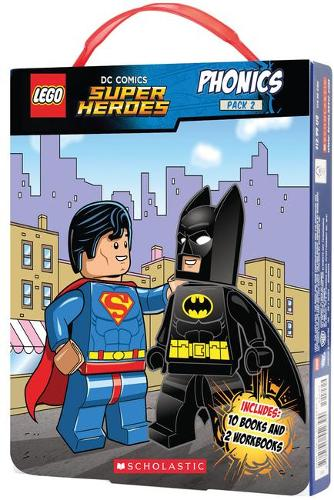 LEGO DC Superheroes: Phonics Box Set 2 (Paperback)