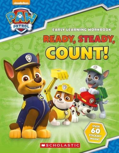 PAW Patrol: Ready, Steady, Count! - Paw Patrol (Paperback)
