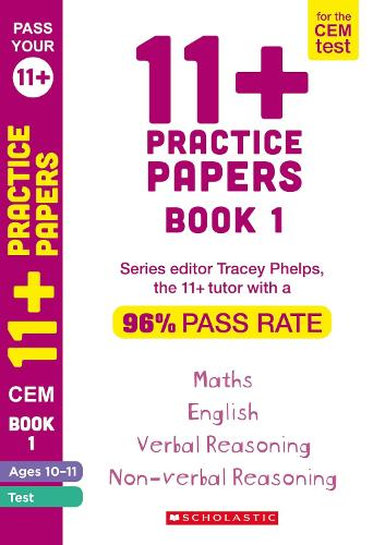 11+ Practice Papers for the CEM Test Ages 10-11 - Pass Your 11+ (Paperback)