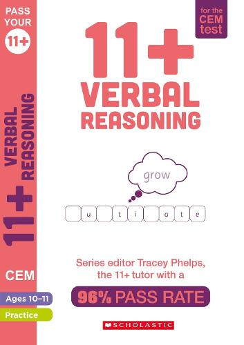 11+ Verbal Reasoning Practice and Assessment for the CEM Test Ages 10-11 - Pass Your 11+ (Paperback)