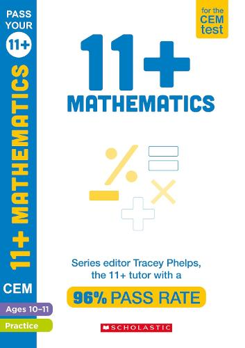 11+ Mathematics Practice and Assessment for the CEM Test Ages 10-11 - Pass Your 11+ (Paperback)