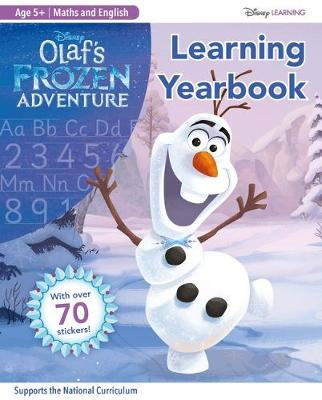 Olaf's Frozen Adventure: Learning Yearbook - Disney Learning (Paperback)