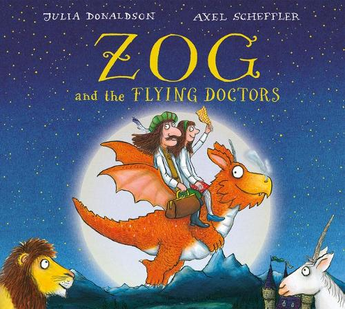 Zog and the Flying Doctors Gift edition board book (Board book)