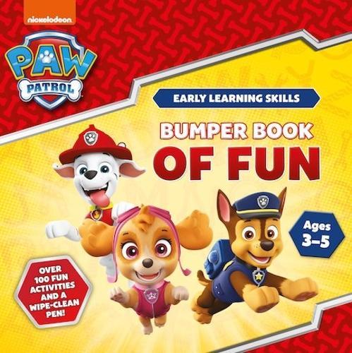 Bumper Book of Fun (Early Learning Skills) - Paw Patrol