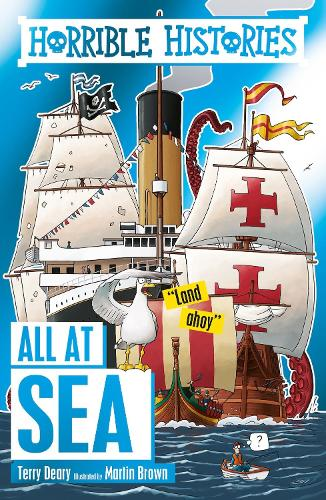 All at Sea - Horrible Histories (Paperback)