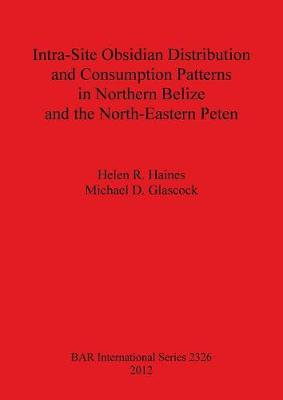 Intra-Site Obsidian Distribution and Consumption Patterns in Northern Belize and the North-Eastern Peten - British Archaeological Reports International Series (Paperback)