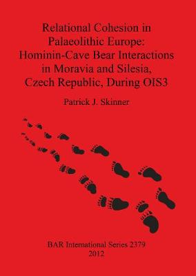 Relational Cohesion in Palaeolithic Europe: Hominin-Cave Bear Interactions in Moravia and Silesia Czech Republic During OIS3 - British Archaeological Reports International Series (Paperback)
