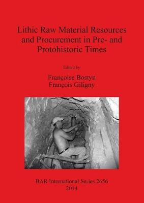 Lithic Raw Material Resources and Procurement in Pre- and Protohistoric Times: Proceedings of the 5th International Conference of the UISPP Commission on Flint Mining in Pre- and Protohistoric Times (Paris 10-11 September 2012) - British Archaeological Reports International Series (Paperback)