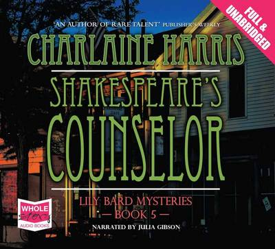 Shakespeare's Counselor (CD-Audio)