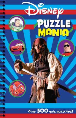 Disney Quizzes - Disney Puzzle Mania (Spiral bound)