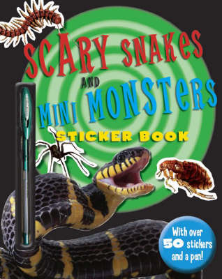 Scary Snakes and Mini Monsters - Predator Sticker Books (Paperback)