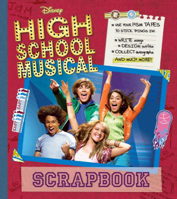 "Disney ""High School Musical"" Scrapbook - Disney High School Musical (Spiral bound)"