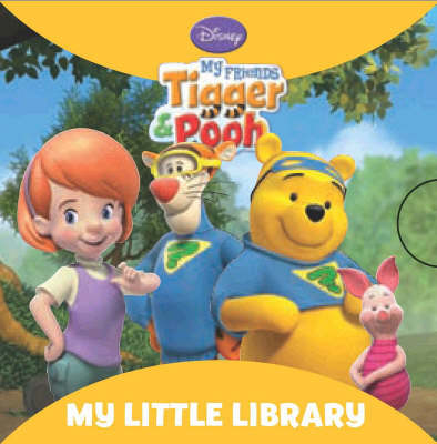 """Disney """"My Friends Tigger and Pooh"""": Little Library (Board book)"""