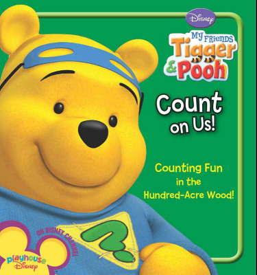 "Disney ""My Friends Tigger and Pooh"": Count on Us (Board book)"
