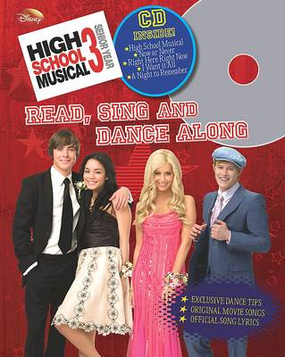 """High School Musical 3"": Read, Sing and Dance Along (Hardback)"