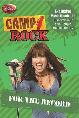 """Disney Stories from """"Camp Rock """": For the Record v. 2 (Paperback)"""