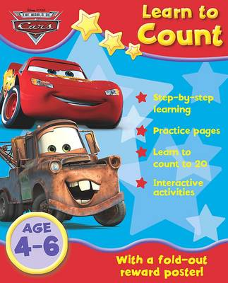 """Disney Home Learning: """"Cars"""" - Learn Your Numbers (Paperback)"""