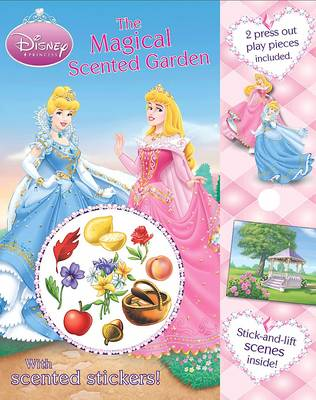 Disney Scented Sticker Storybook: The Magical Garden