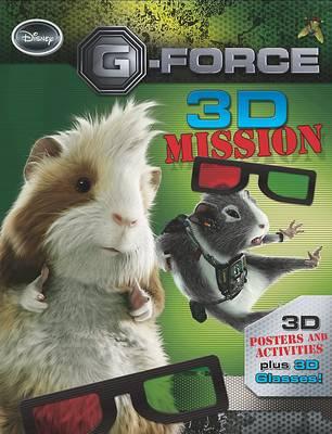 """Disney 3d Activity: """"G-Force"""" 3d Mission (Paperback)"""