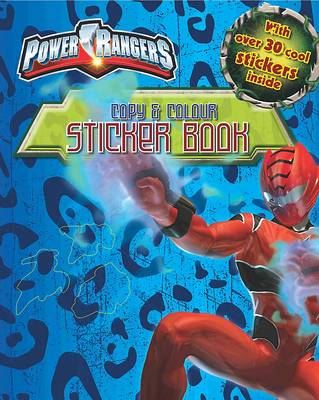"Disney ""Power Rangers"" Copy and Colour Sticker Book"
