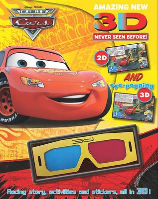 """Disney 3d Story and Activity: """"Cars"""" (Paperback)"""