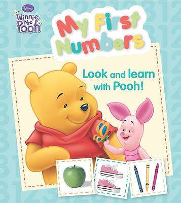 "Disney Padded Board - ""Winnie the Pooh"": My First Numbers (Board book)"