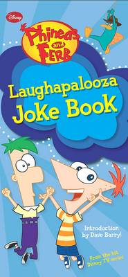 Disney Joke Book - Phineas and Ferb (Paperback)