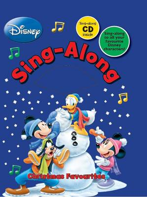 Disney Singalong: Christmas Favourites (Board book)