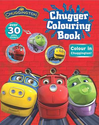 Chuggington Shiny Sticker Colouring