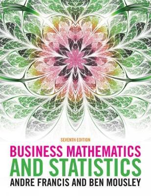 Business Mathematics and Statistics (Paperback)