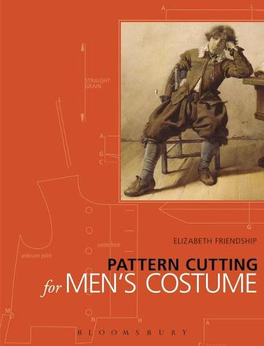 Pattern Cutting for Men's Costume - Backstage (Paperback)
