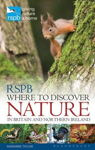 RSPB Where to Discover Nature: In Britain and Northern Ireland (Paperback)