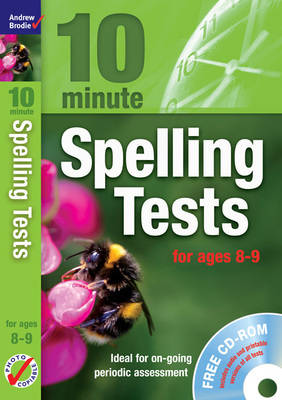 Ten Minute Spelling Tests for Ages 8-9